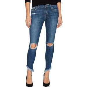 Joe's Jeans Icon Diagonal Hem Skinny Jean